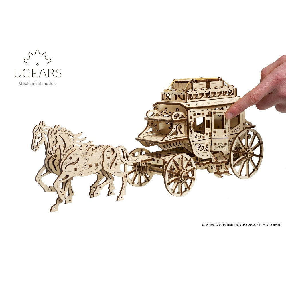 UGEARS: Stagecoach