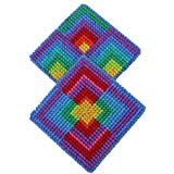 Harrisville Designs Needlepoint Coaster Kit