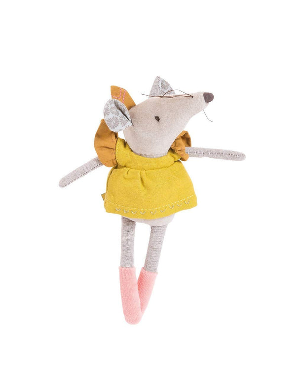 "Le Voyage D'Olga 6"" Soft Toy - Lisette the Mouse"