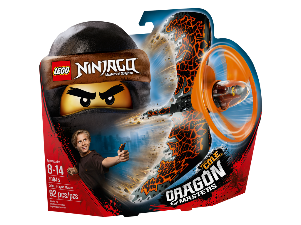 70645 Cole - Dragon Master