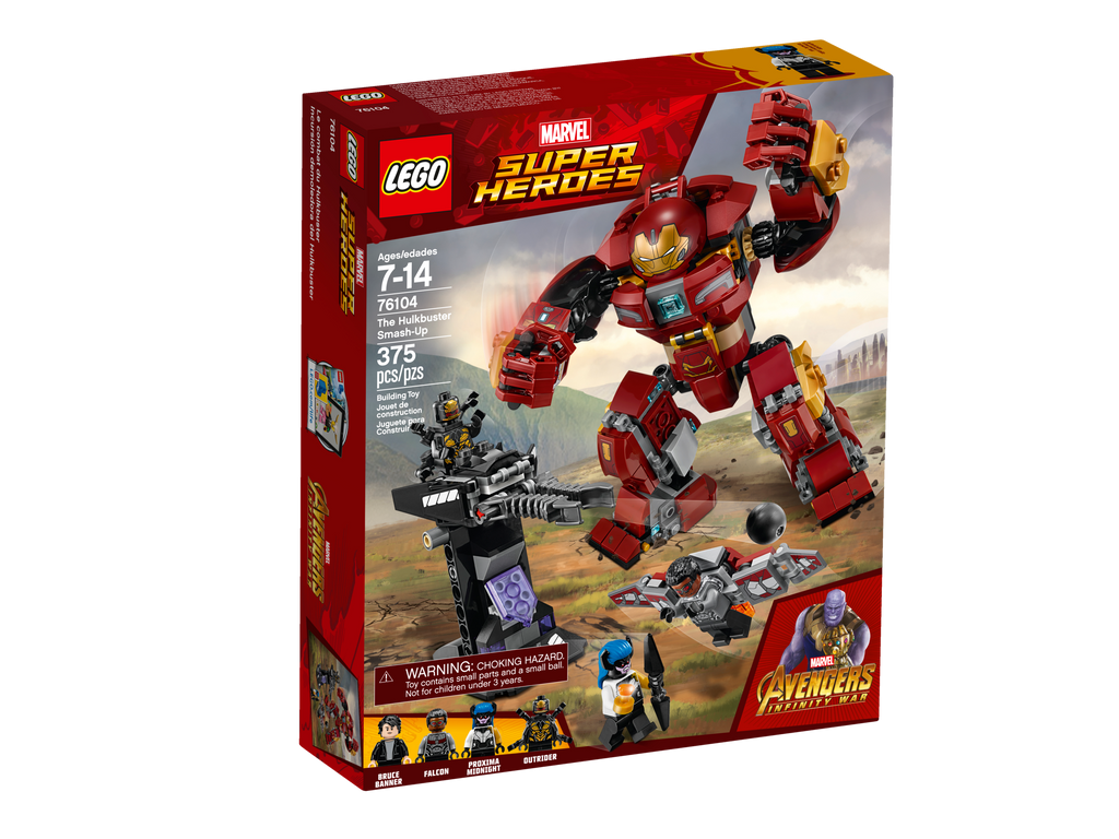 76104 The Hulkbuster Smash-Up