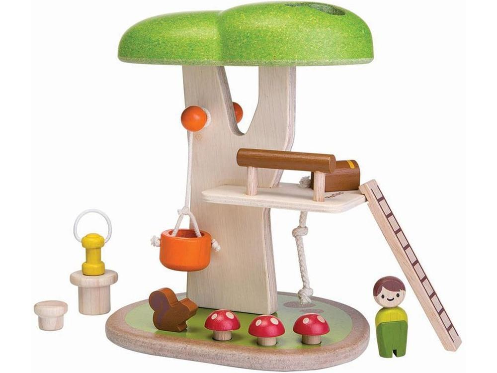 PlanToys Tree House, Multi-Colored