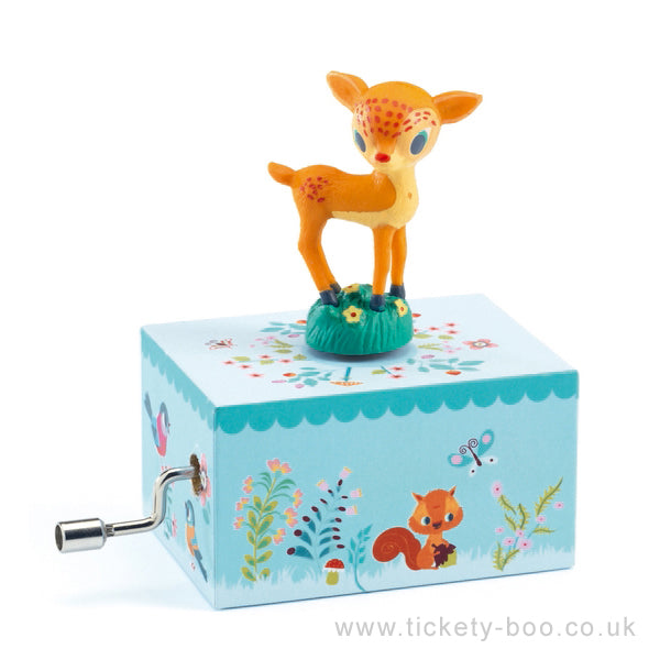 Fawn in the Woods - Music Box