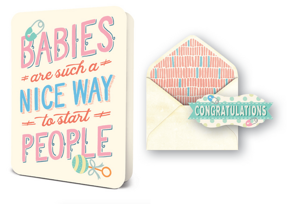 Deluxe Card Set: Babies Are Nice