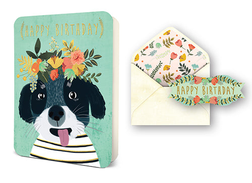 Deluxe Card Set: Happy Birthday Pup