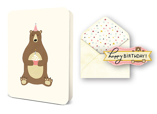 Deluxe Card Set: Birthday Bear