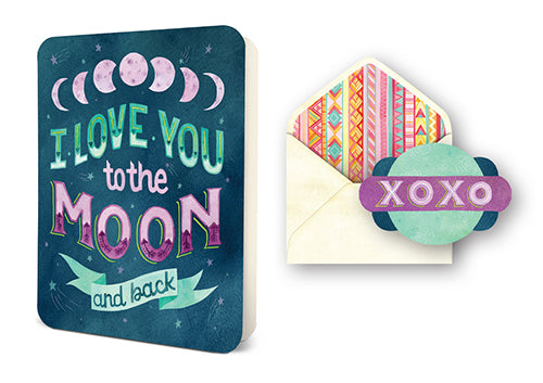 Deluxe Card Set: To the Moon and Back