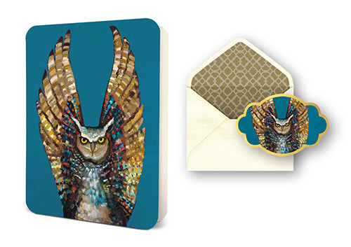 Deluxe Card Set: Owl