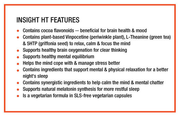 InSight HT Features