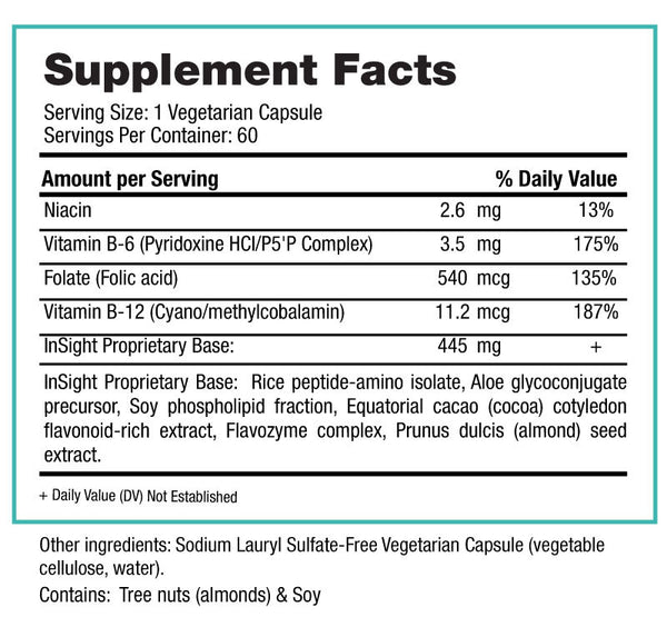 InSight Supplement Facts