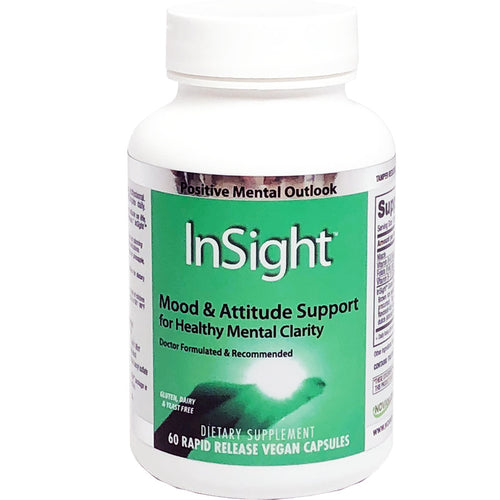 InSight for Positive Mood, Attitude & Cognitive Support, 60 V. Caps