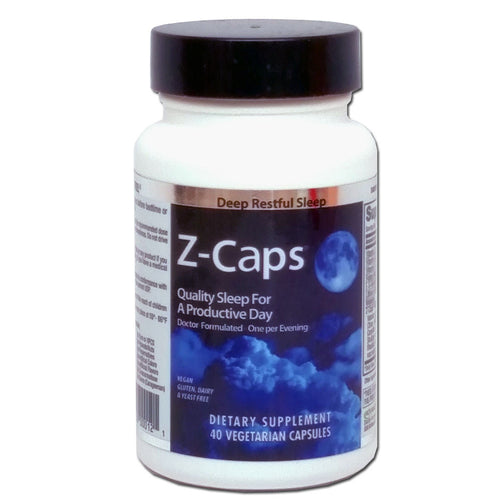 Z-Caps For Deep, Restful Sleep, 40 V.Caps-NovaNutrients.com
