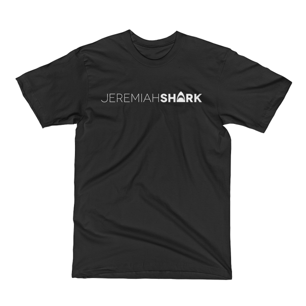 Black Edition:  Jeremiah Shark - Unisex Short Sleeve T-Shirts