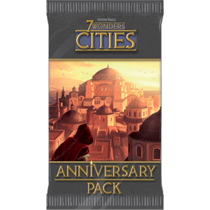 7 Wonders Cities Anniversary Pack Repos Production, Board Games Beanie Games