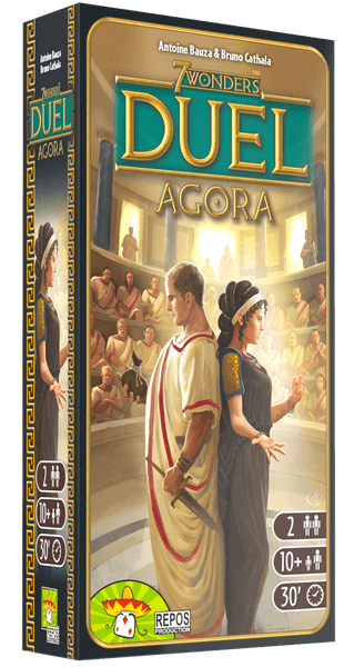 7 Wonders Duel: Agora Expansion by Repos Production - Beanie Games