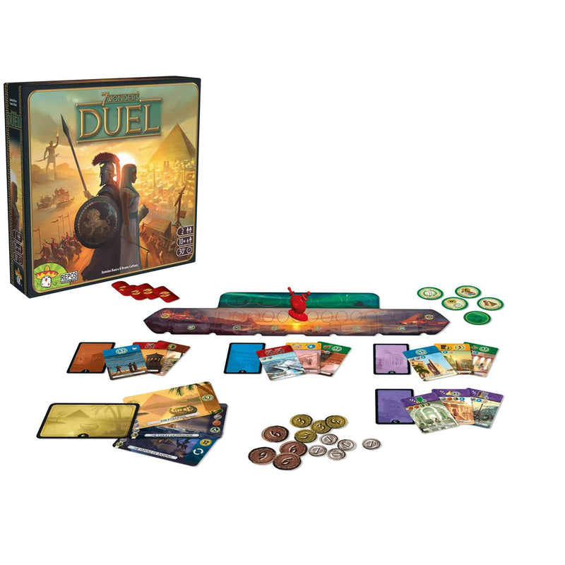 7 Wonders Duel Repos Production, Board Games Beanie Games