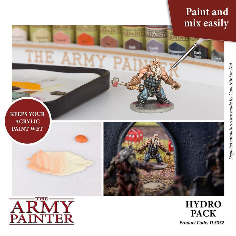 Army Painter Wet Palette Hydro Pack Army Painter, Paint Beanie Games