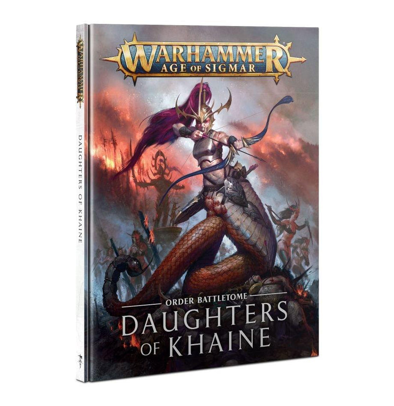Battletome: Daughters Of Khaine (HB) Games Workshop, Games Workshop Books Beanie Games