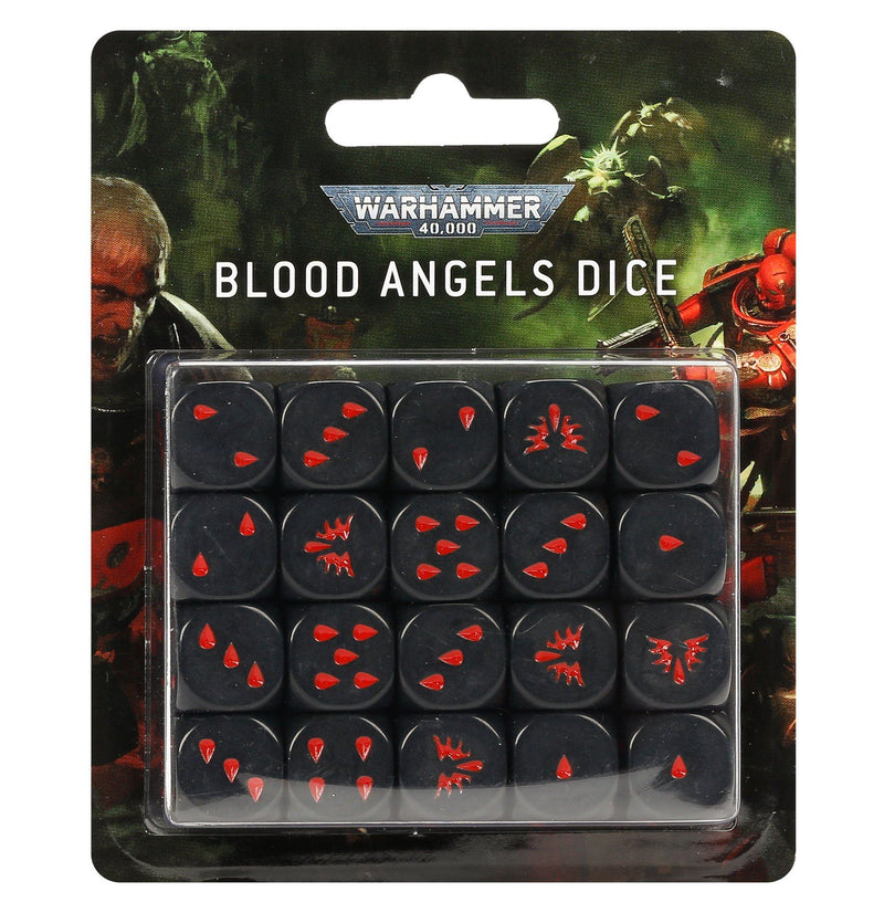 Blood Angels Dice Set by Games Workshop - Beanie Games