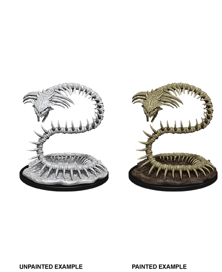 Bone Naga: D&D Nolzur's Marvelous Unpainted Miniatures (W12) Wiz Kids LLC, RPG Miniatures Beanie Games