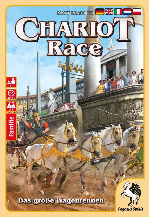 Chariot Race Pegasus Spiele, Board Games Beanie Games