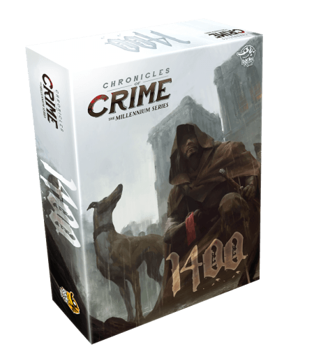 Chronicles of Crime The Millennium Series: 1400 Lucky Duck Games, Board Games Beanie Games