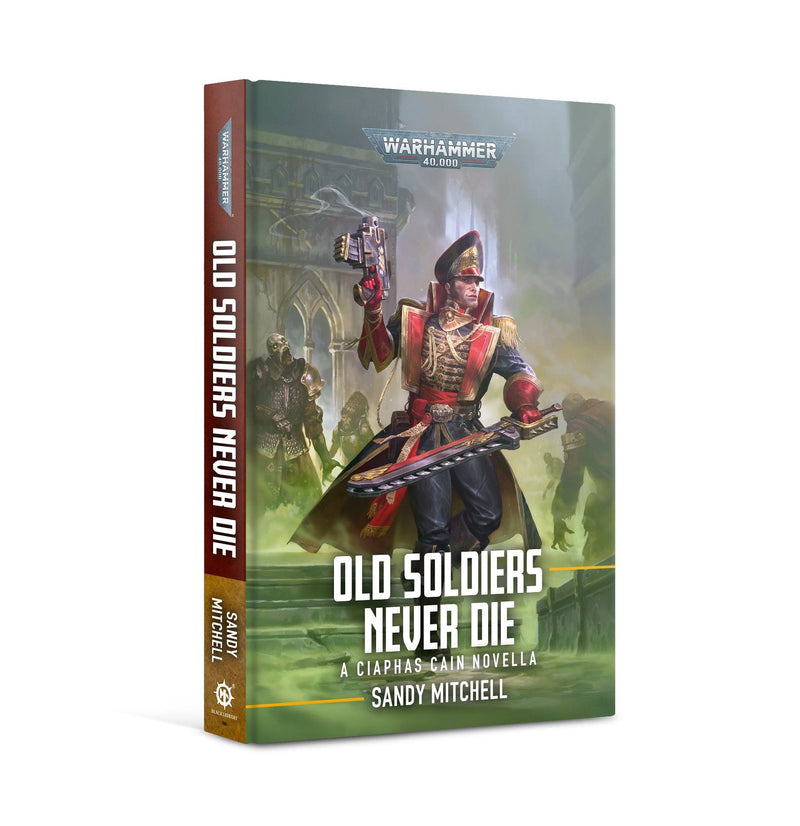 Ciaphas Cain: Old Soldiers Never Die (HB) Games Workshop, Games Workshop Books Beanie Games
