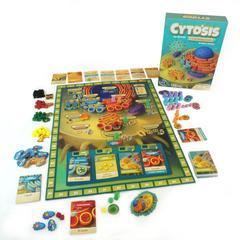 Cytosis: A Cell Biology Game Genius Games, Board Games Beanie Games