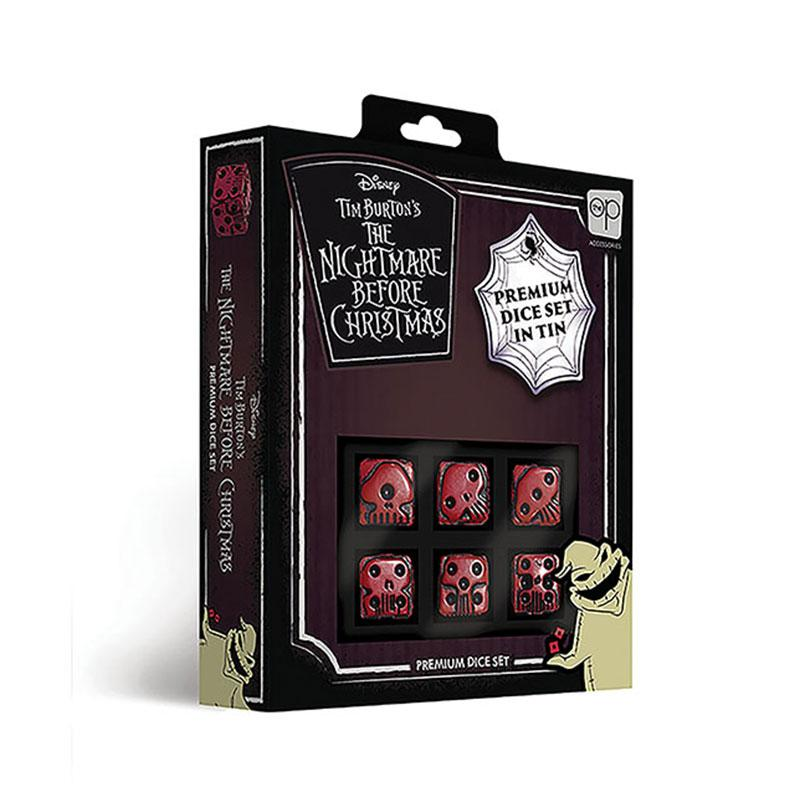 Disney The Nightmare Before Christmas Premium Dice Set USAopoly, Dice Beanie Games