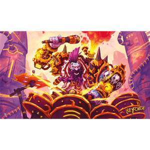 Drummernaut Playmat: KeyForge Fantasy Flight Games, Keyforge Beanie Games