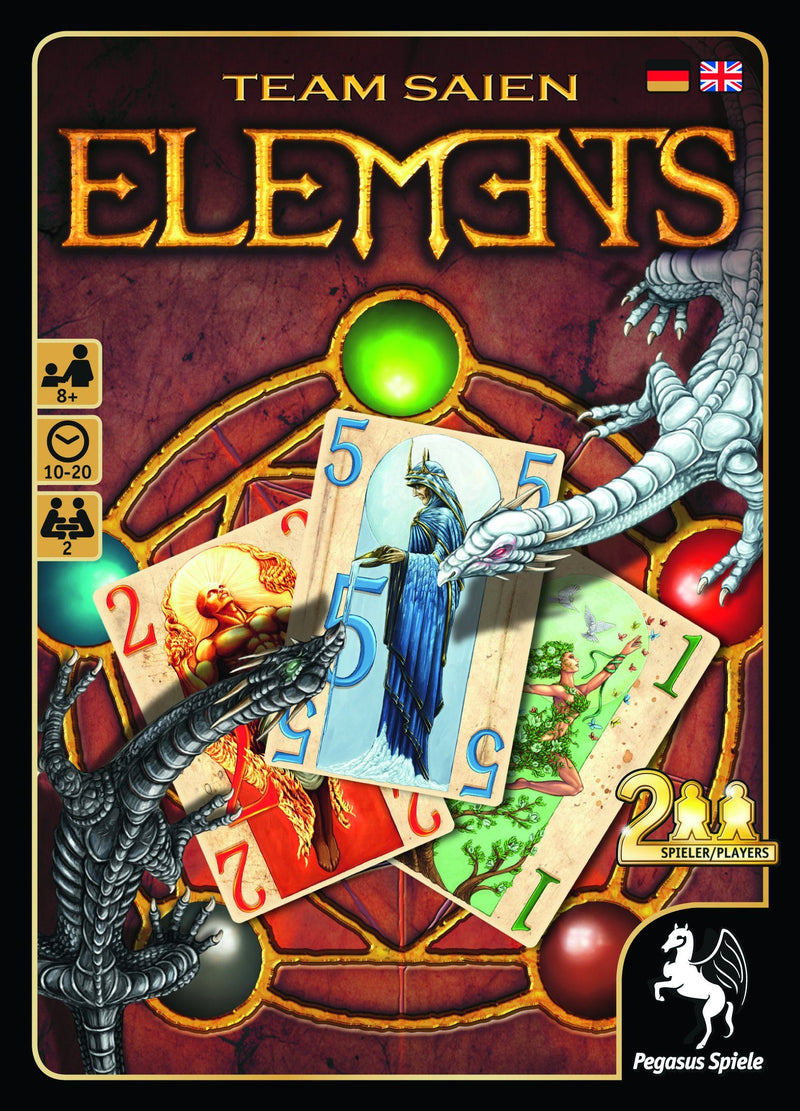 Elements Pegasus Spiele, Board Games Beanie Games
