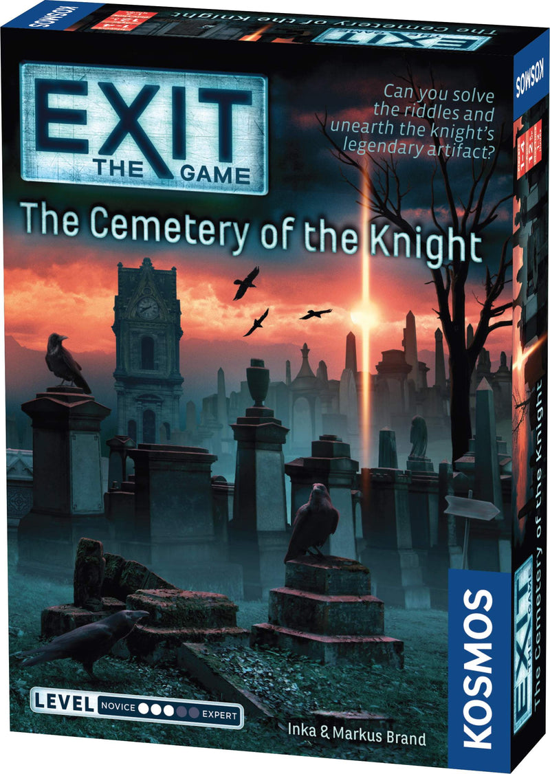 Exit: The Cemetery of the Knight Kosmos, Board Games Beanie Games