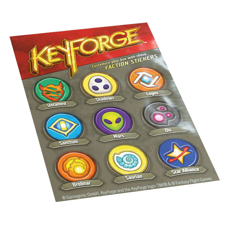 Gamegenic Keyforge Gemini Deck Box: Blue Gamegenic, Keyforge Beanie Games