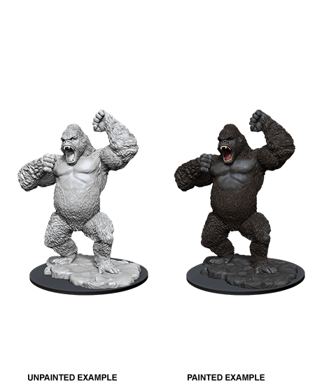 Giant Ape: D&D Nolzur's Marvelous Unpainted Miniatures (W12) Wiz Kids LLC, RPG Miniatures Beanie Games
