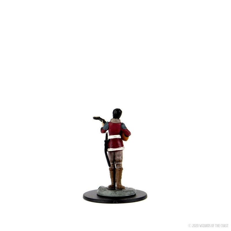 Half-Elf Bard Female: D&D Icons of the Realms Premium Figures (W4) Wiz Kids LLC, RPG Miniatures Beanie Games