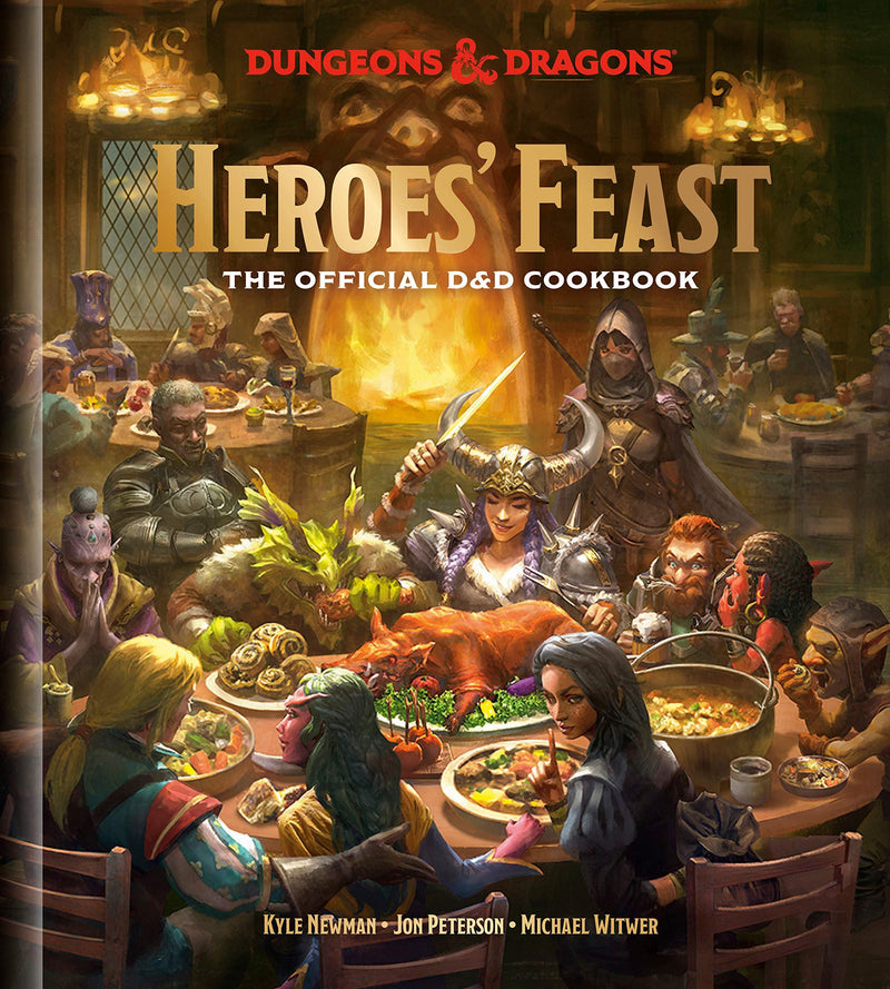 Heroes Feast: The Official Dungeons & Dragons Cookbook Wizards Of The Coast, RPG Books Beanie Games