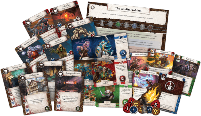 Heroes of Terrinoth: The Adventure Card Game Fantasy Flight Games, Board Games Beanie Games