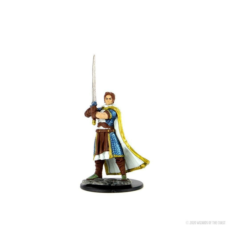 Human Cleric Male: D&D Icons of the Realms Premium Figures (W4) Wiz Kids LLC, RPG Miniatures Beanie Games