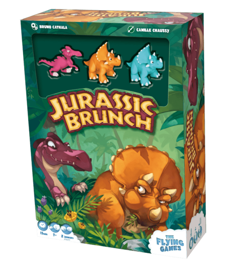 Jurassic Brunch The Flying Games, Board Games Beanie Games