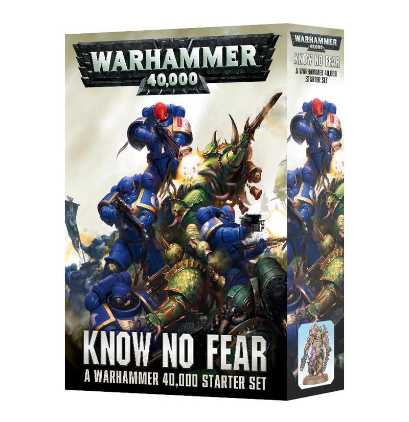 Know No Fear 40K Starter Set Games Workshop, Games Workshop Beanie Games