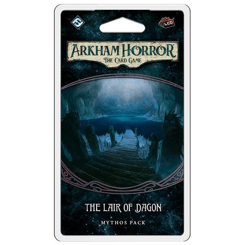 Lair of Dagon Mythos Pack: Arkham Horror LCG Fantasy Flight Games, Arkham Horror LCG Beanie Games