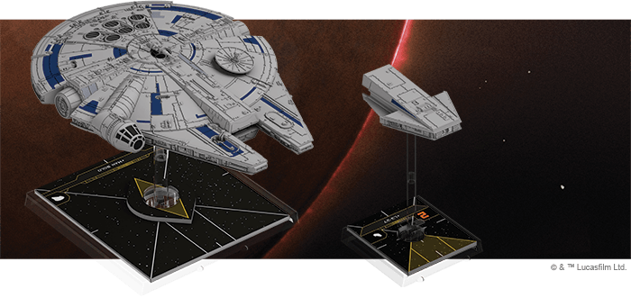 Lando's Millennium Falcon Expansion Pack Fantasy Flight Games, X-Wing Beanie Games