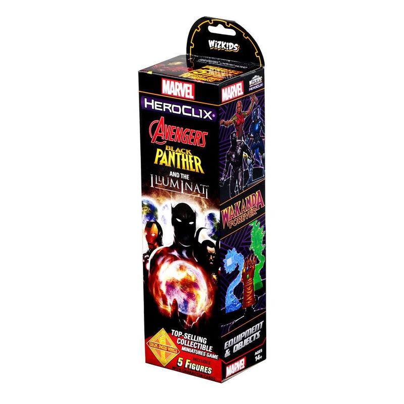 Marvel Heroclix Black Panther and the Illuminati Booster by Wiz Kids LLC - Beanie Games