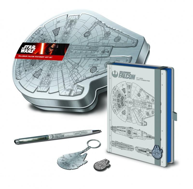 Millenium Falcon Tin Gift Set Pyramid, Gifts Beanie Games