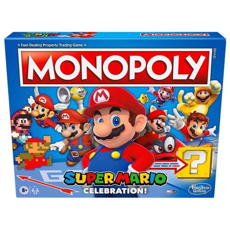 Monopoly Super Mario Celebration Edition by Hasbro - Beanie Games