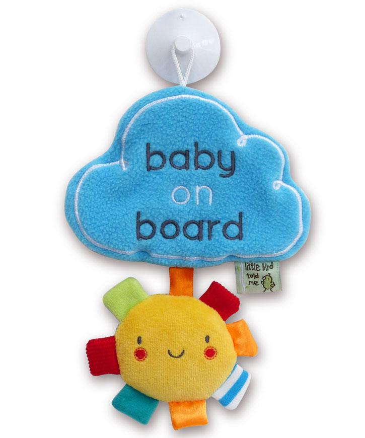 My Little Sunshine Baby on Board Little Bird Told Me, Pre-School Beanie Games