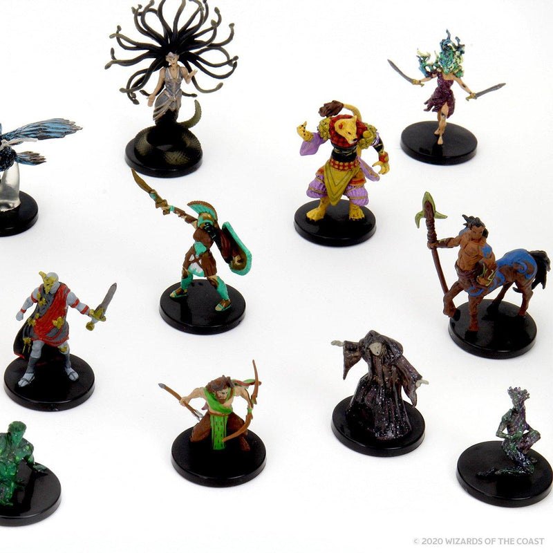 Mythic Odysseys of Theros Booster: D&D Icons of the Realms Miniatures Wiz Kids LLC, RPG Miniatures Beanie Games