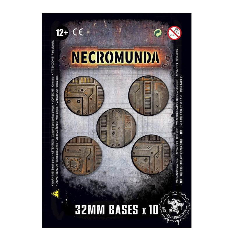 Necromunda: 32mm Bases (x10) Games Workshop, Games Workshop Beanie Games