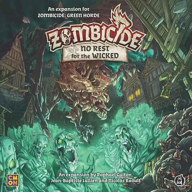 No Rest For The Wicked: Zombicide Green Horde CoolMiniOrNot Inc, Board Games Beanie Games