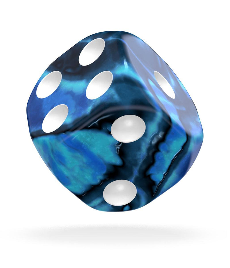 Oakie Doakie Dice D6 Dice 16 mm Gemidice - Twilight Stone (12) Oakie Doakie Dice, Dice Beanie Games